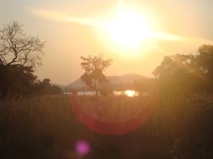 Beautiful Zambian Sunset